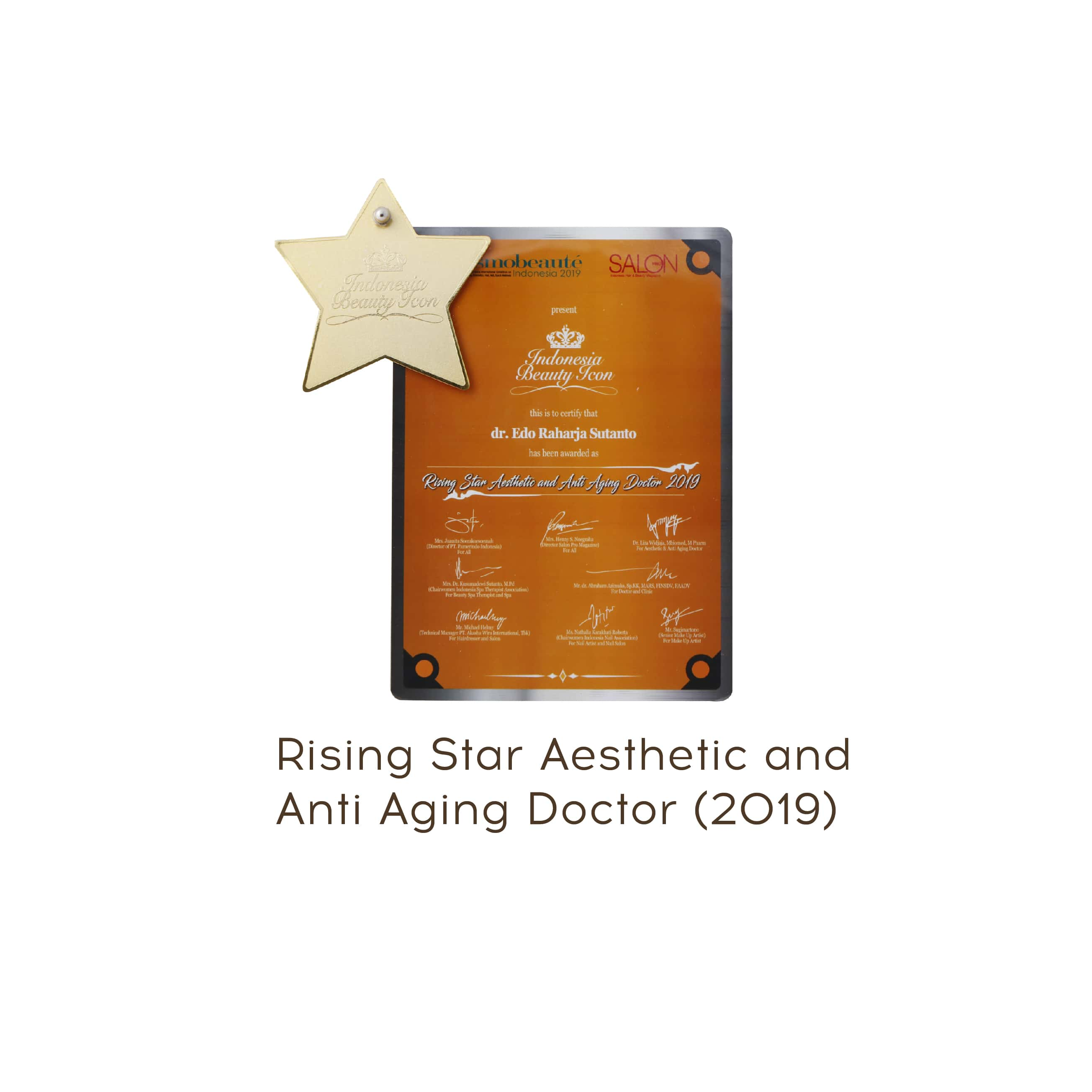 rising star aesthteic award