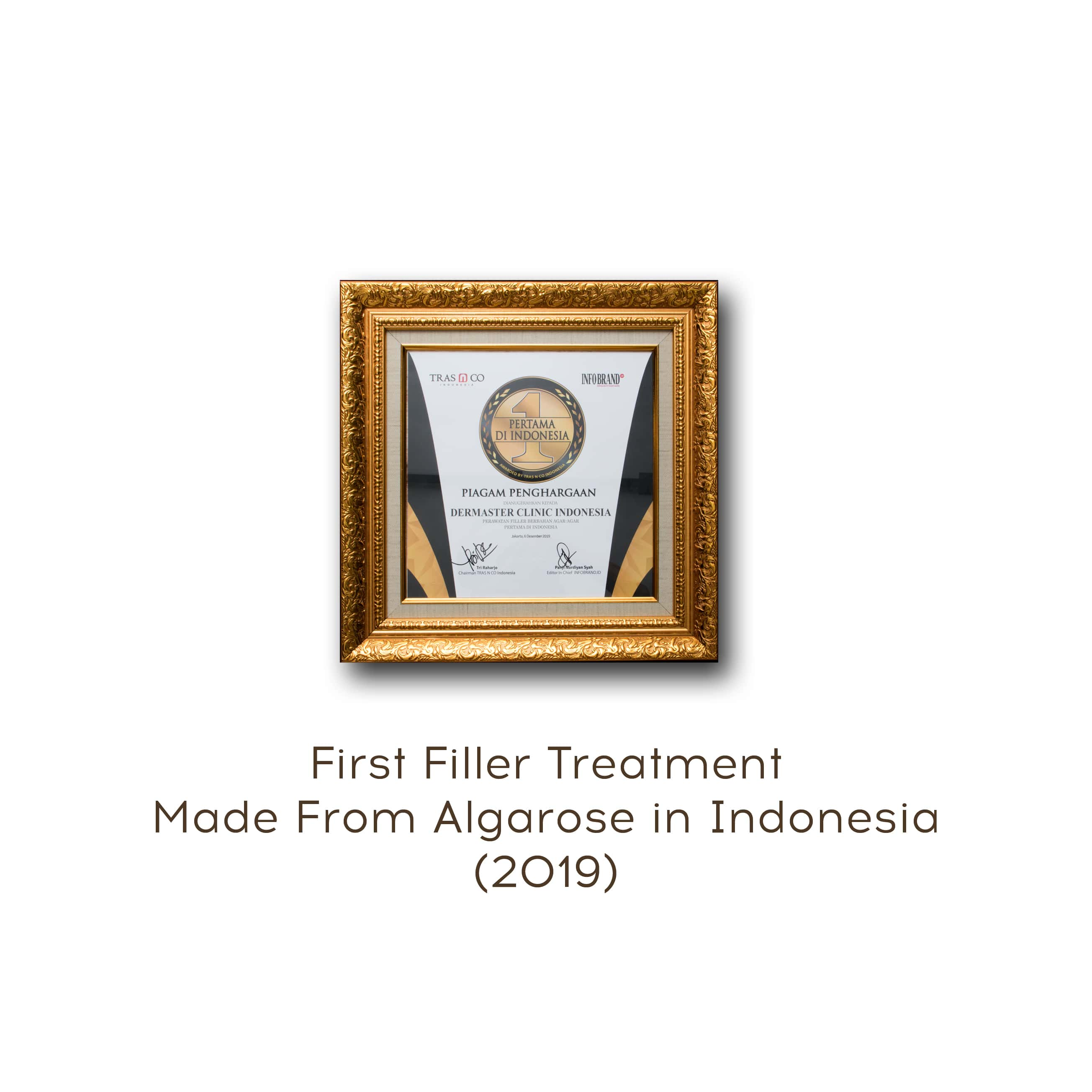 filler treatment award