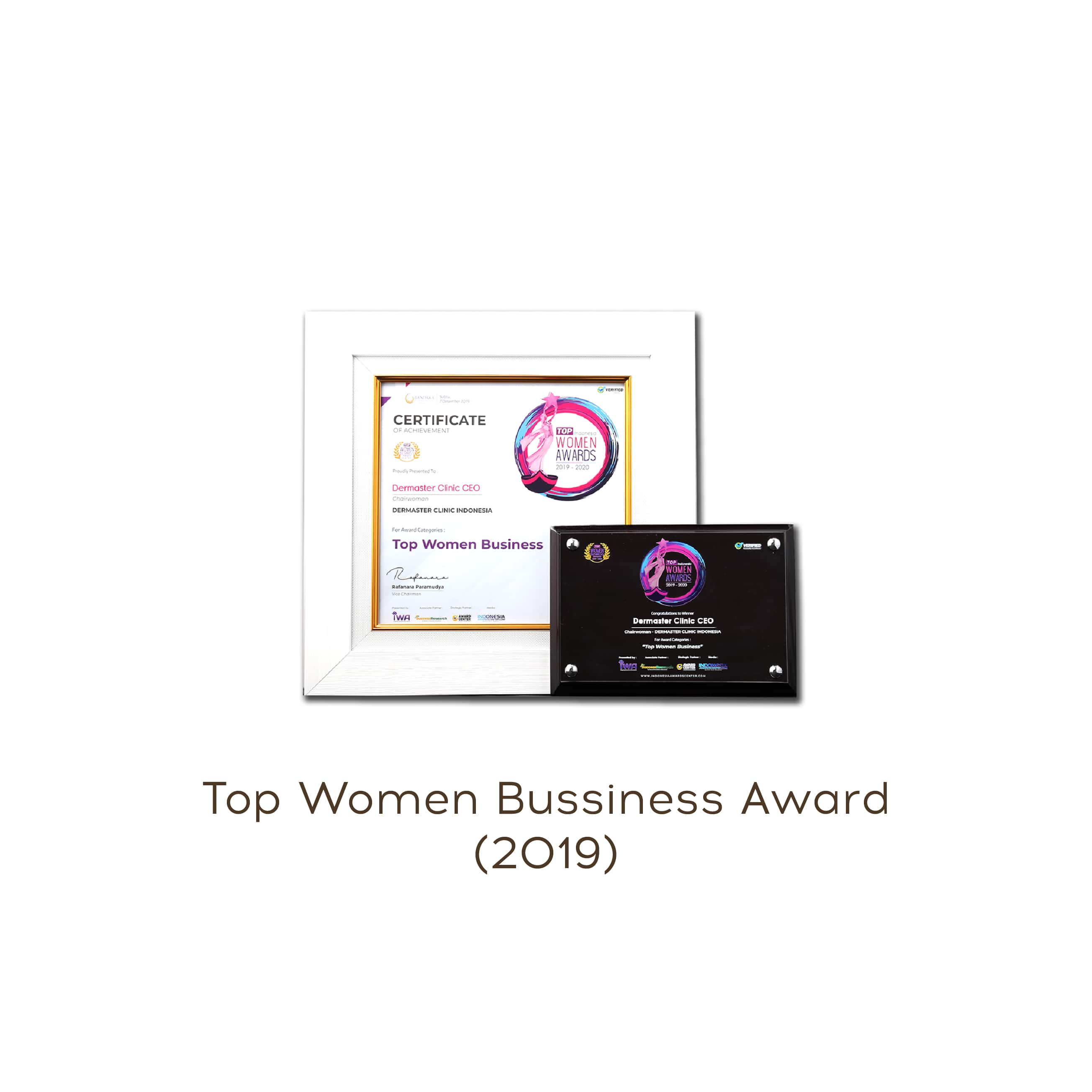 top woman business award
